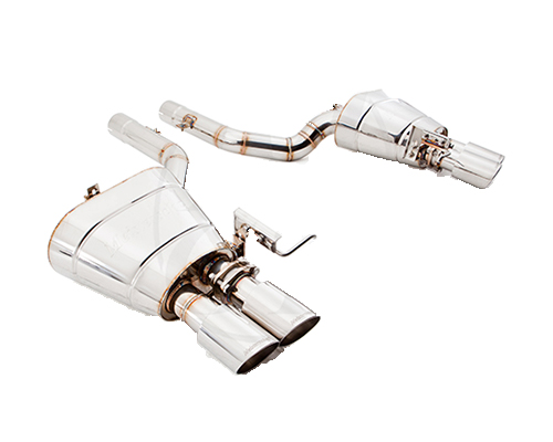 Meisterschaft Stainless GTS Ultimate Axle Back Muffler System 4x90mm Tips BMW 640i Gran Coupe F06 13-15 - BM2511505