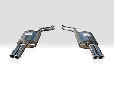 Quicksilver Sport Stainless Steel Rear Section BMW 650i  V8 E63|E64 06-10 - BM650S
