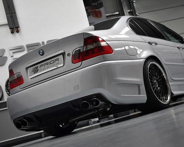 Prior Design Rear Bumper BMW 3-Series E46 99-05 - 4260609890655