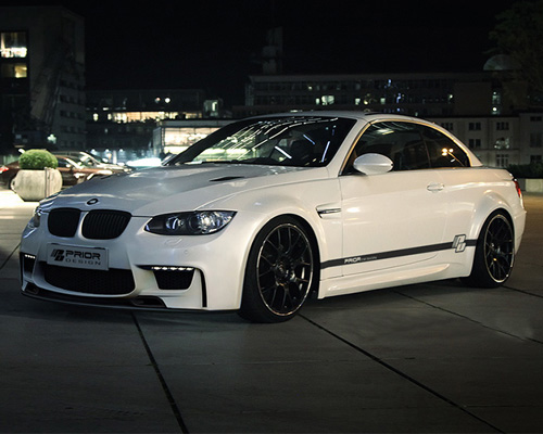 Prior Design PD-M1 Widebody Aerodynamic Kit w/o Hood BMW 3-Series E92 | E93 05-08 - 4260609890839