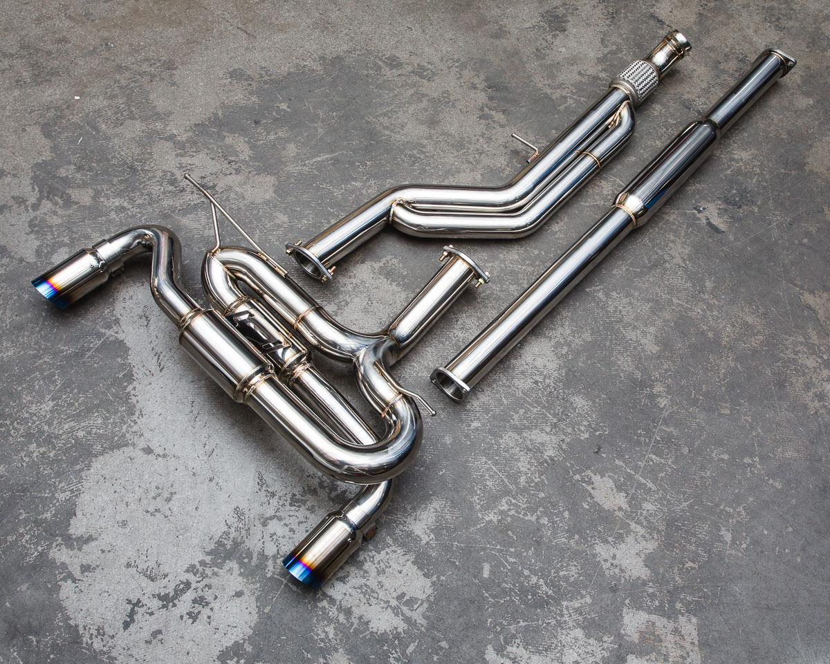 Agency Power Catback Exhaust System Bmw F30 335i F32