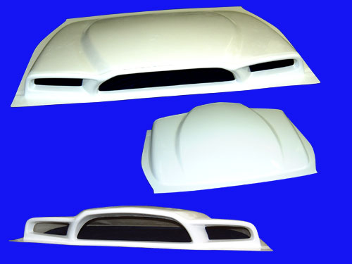 Image of BOMEX Engine airOutlet Cover 01 Toyota MR2 90-99