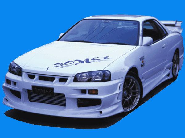 BOMEX Front Bumper 01 Nissan Skyline Coupe R34 99-02 - BMX20231110001