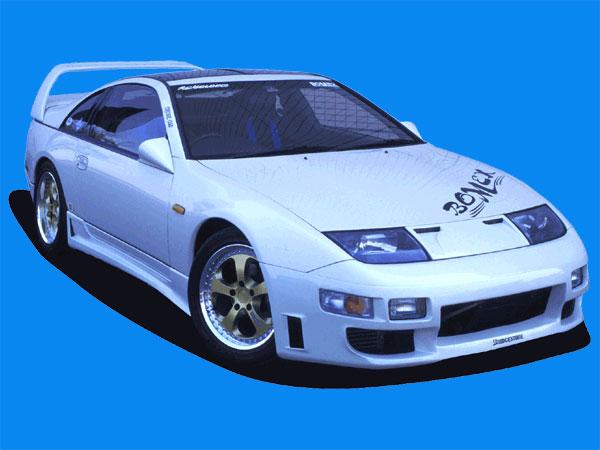 BOMEX Front Bumper 01 Nissan 300ZX Z32 90-96