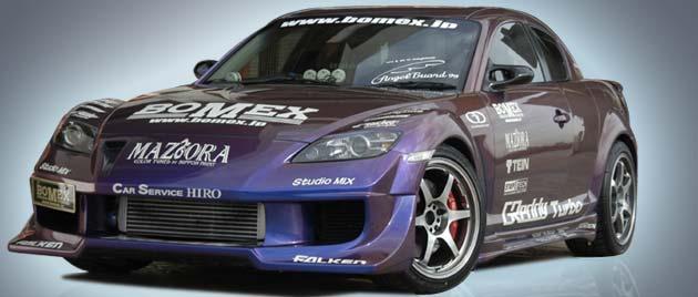 BOMEX Front Bumper 01 Mazda RX-8 04-11 - BMX41411110001