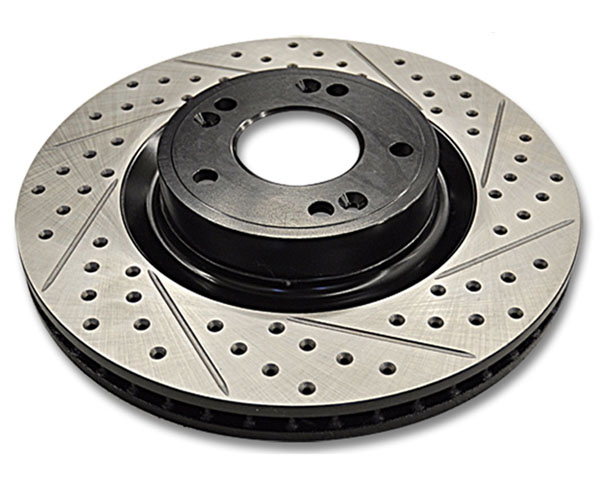 Image of ARK Drilled Slotted Front Rotors Hyundai Genesis Coupe wBrembo Brakes 10-12