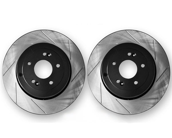 ARK Slotted Rear Rotors Hyundai Genesis Coupe w/Brembo Brakes 10-12 - BR0700-103SR