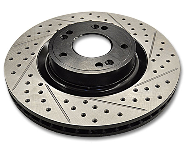 Image of ARK Drilled Slotted Front Rotors Hyundai Genesis Coupe wo Brembo Brakes 10-12
