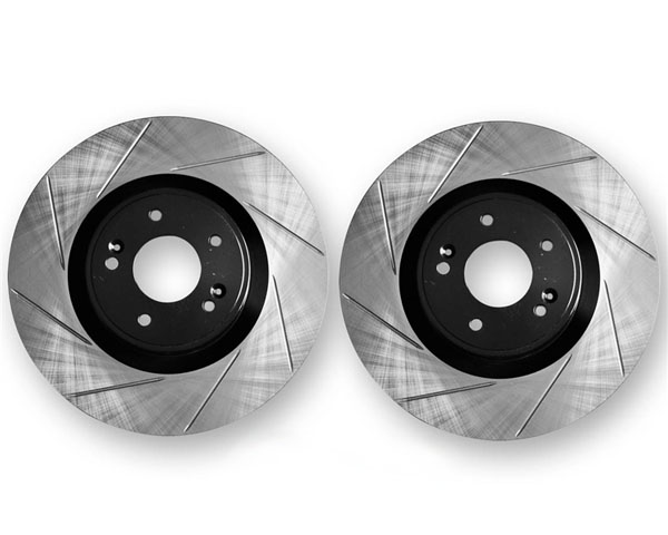 ARK Slotted Front Rotors Hyundai Genesis Coupe w/o Brembo Brakes 10-12 - BR0700-203SF