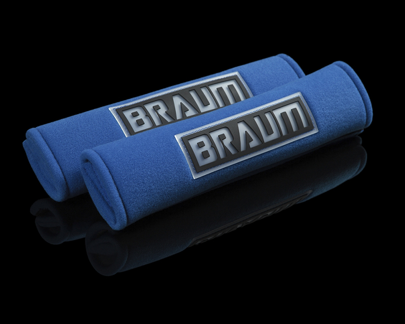 "Braum Racing Blue 2"" Shoulder Pads - BRHP-2BLU"