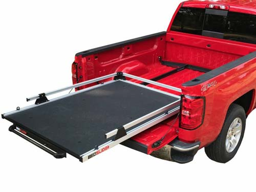 GM Silverado and Sierra 19-Pres 5.9 Foot and 6.9 Foot No-Drill Factory Mount Install Kit Bedslide - BSA-GM6878