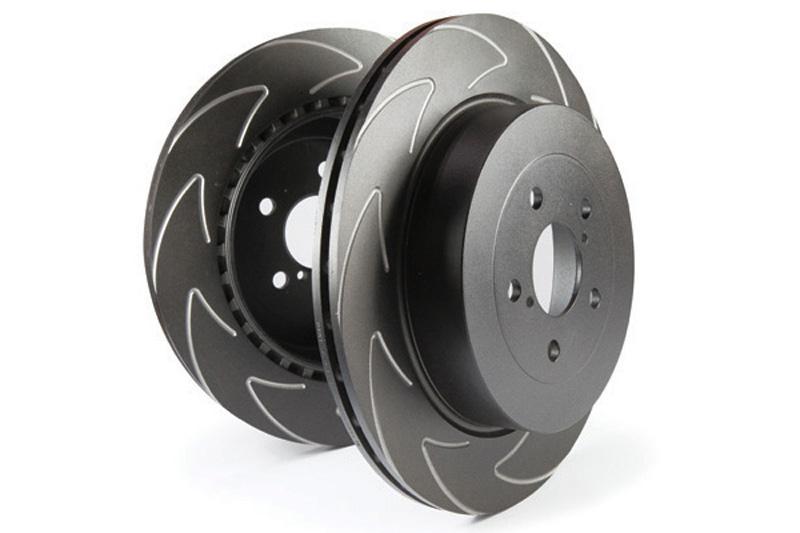 EBC Brakes BSD Rotors FRONT Disc Brake Rotor FMSI D1273 Front - BSD7442