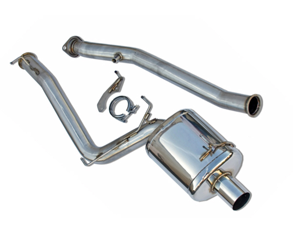 Berk Technology 3in Header Back Single Exhaust with Integrated Test Pipe & CEL Fix Honda S2000 AP1 00-03 - BT1604-TP-AP1