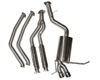 Berk Technology Downpipe Back Street Performance Exhaust BMW 135i N54 1-Series E82 Coupe 08-09
