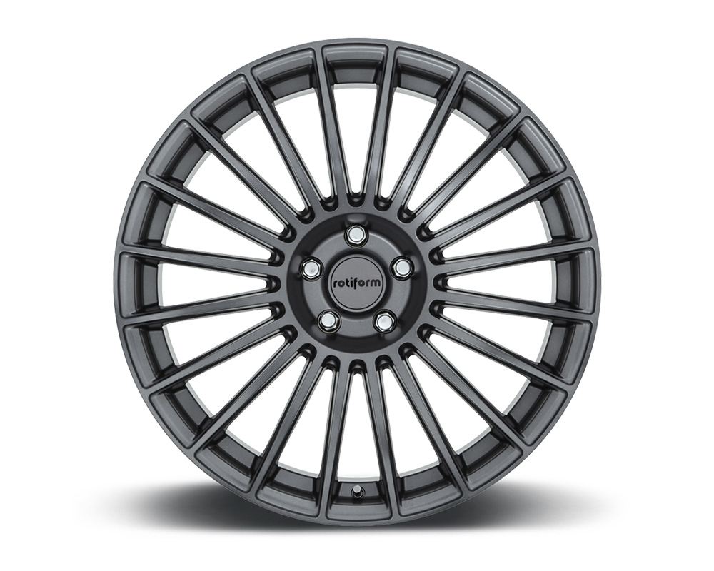 Rotiform BUC Anthracite Cast Monoblock Wheel 18x8.5 5x114.3 35mm - R154188565+35