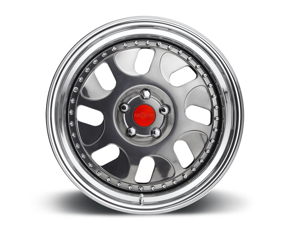 Rotiform BWE 2-Piece Forged Welded Flat Wheels - BWE-2PCFORGED-FLAT