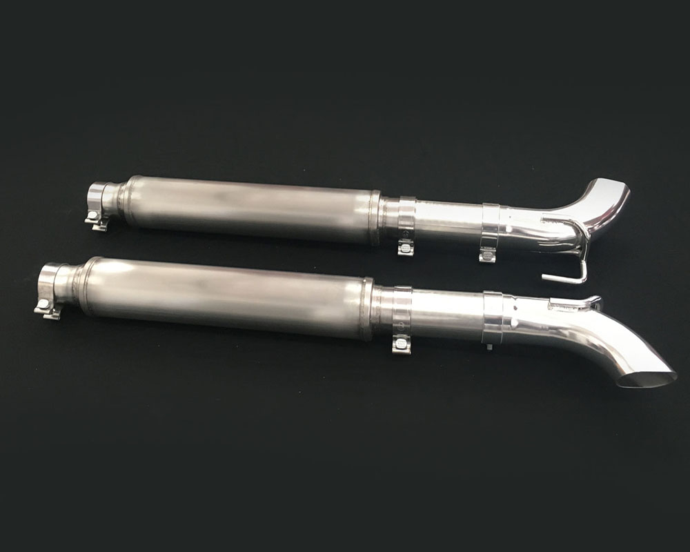 Belanger 2 1/2 inch Cat Back w/ Silver Tailpipes  Dodge Viper SRT Coupe/GTS 13-17 - 5577GTSS-stock