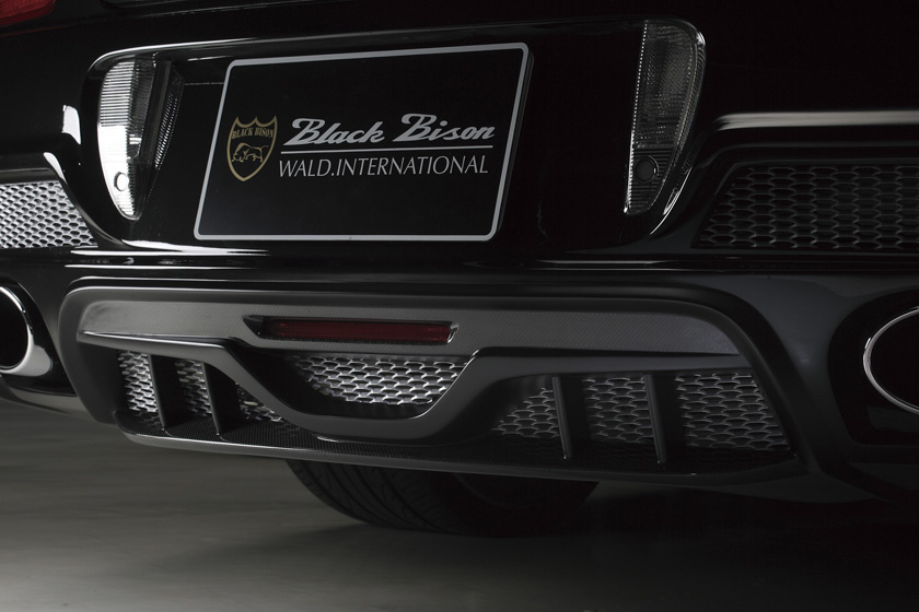 Wald USA Black Bison Edition Exhaust System Bentley Continental Flying Spur 09-12 - BFS.BB.ES.09
