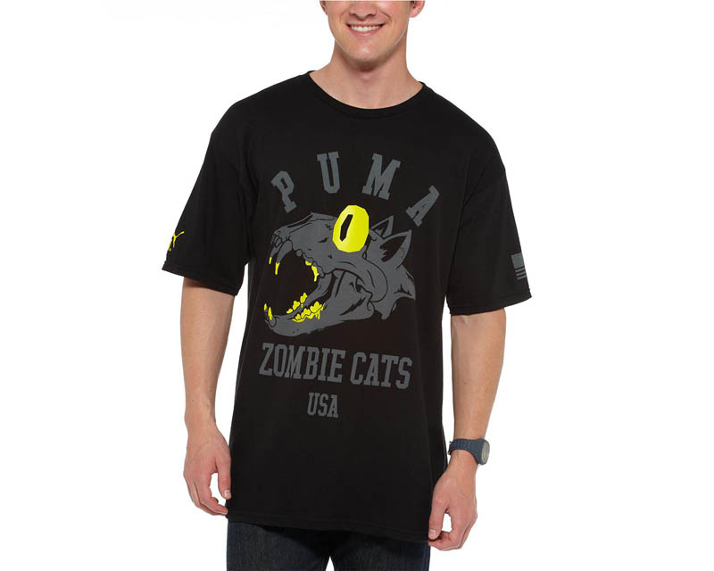 Image of Puma Global Rallycross GRC Screamin Zombie Cat T-Shirt