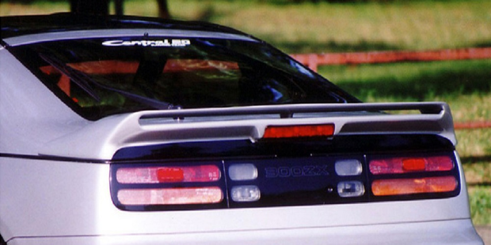 Central 20 Rear Double Wing Nissan 300ZX - C20-RW-FRP-Z32