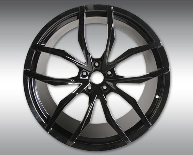 Novitec MC1 Forged Front Wheel Black 20x9 McLaren 570GT 16-19 - C4 570 11