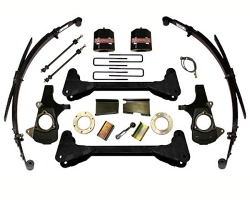 Skyjacker 6 Inch Lift Kit Chevrolet | GMC 1500 Trucks 4WD 07-12 - C7660PKS
