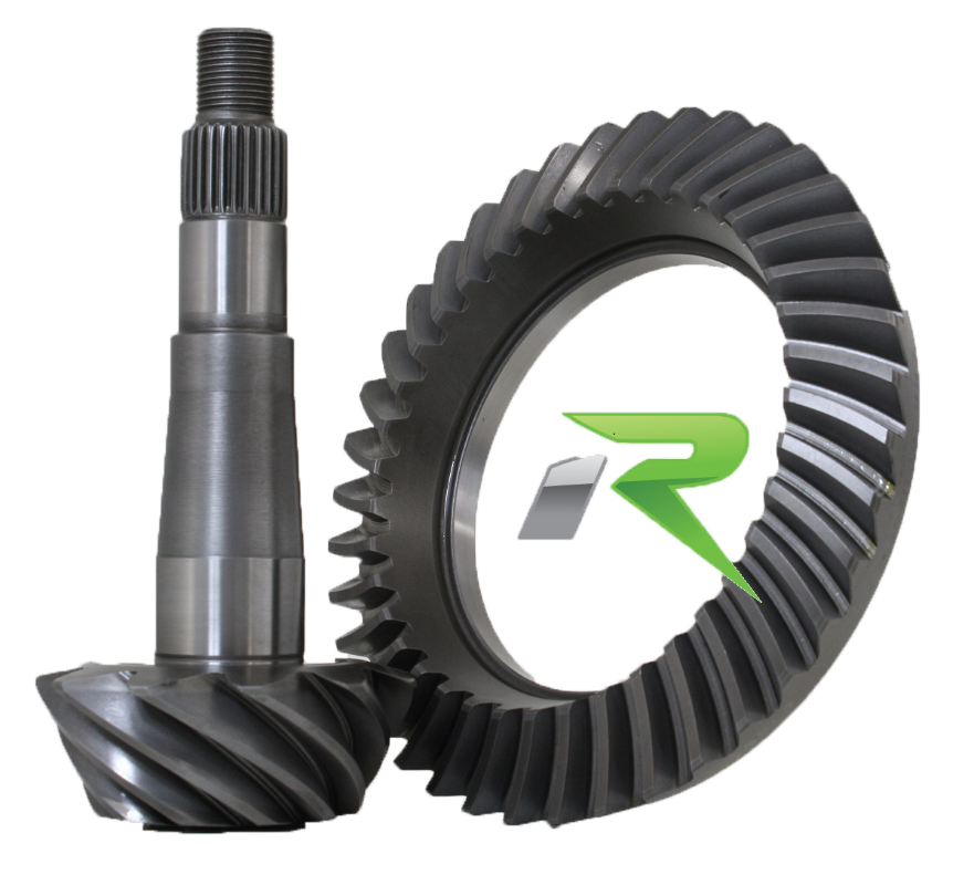 Revolution Gear and Axle Chrysler 8.25 Inch 4.56 Ratio Dual Drilled Ring and Pinion - C8.25-456D