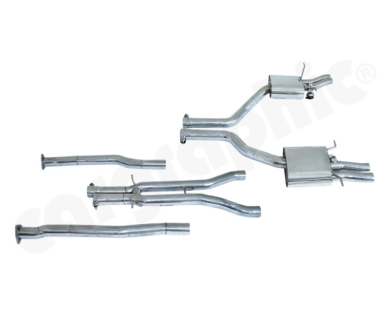 Cargraphic Catback Exhaust System With Flaps Sound   Super Sound Bentley Flying Spur 06-18 - CARBENFLYSYS002