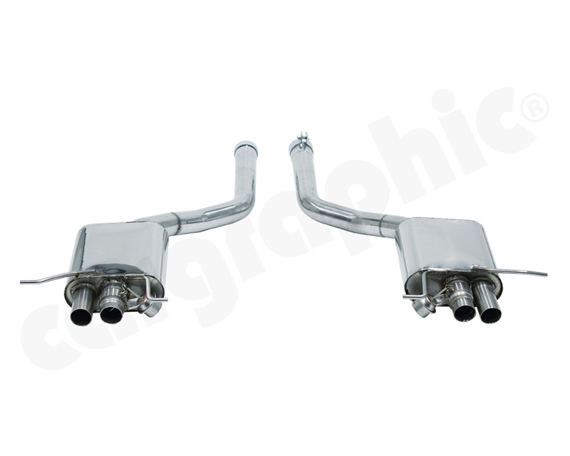 Cargraphic Catback Exhaust With Flaps Sound | Super Sound Bentley Continental GT 04-15 - CARBENGTV8SYS002