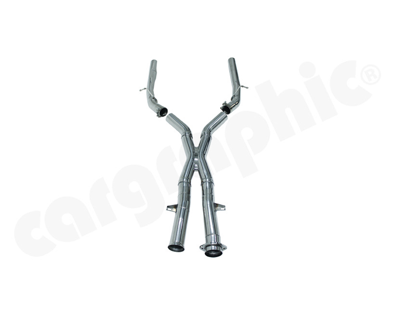 Cargraphic Center Section X-Pipe Super Sound Mercedes-Benz SLS AMG 11-15 - CARC197XPIPE