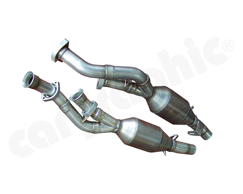 Cargraphic Catalytic Converter Set Obd2 Compliant Ferrari 575 96-06 - CARFE575KATOBD2
