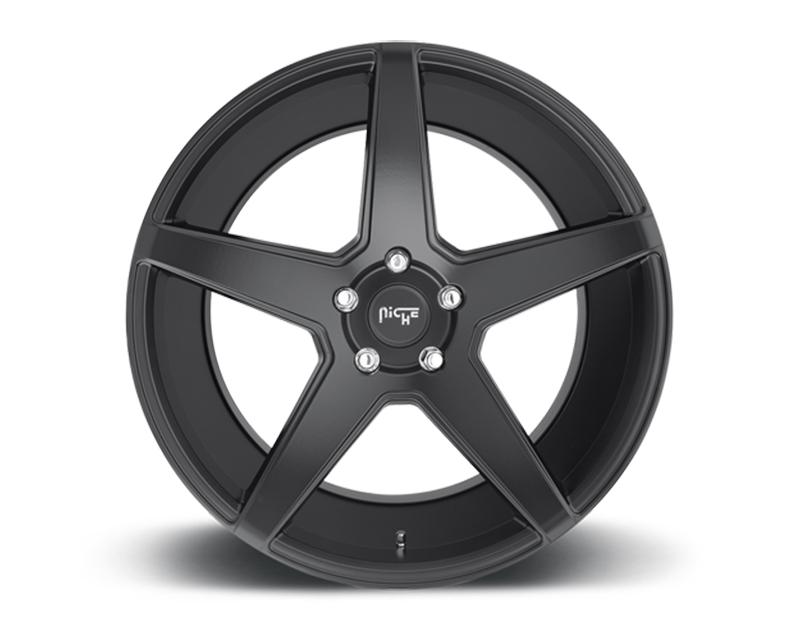 Niche Carini Matte Black 20x10 5x112 40mm - M185200043+40