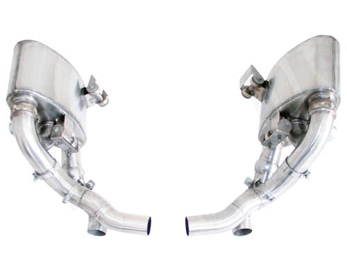 Cargraphic Exhaust System w /Flaps and Remote Porsche 997.2 Carrera 09-11 - CARP97DFIETFLAP