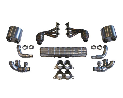 Cargraphic Exhaust Kit 1 Weight Reducing Version Porsche 997 GT3 07-09
