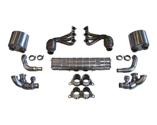 Cargraphic Exhaust Kit 1 Weight Reducing Version Porsche 997.2 GT3 10-11 - CARP97GT3KIT138