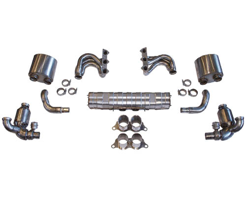 Cargraphic Exhaust Kit 3 Performance Weight Reducing Version Porsche 997 GT3 07-09