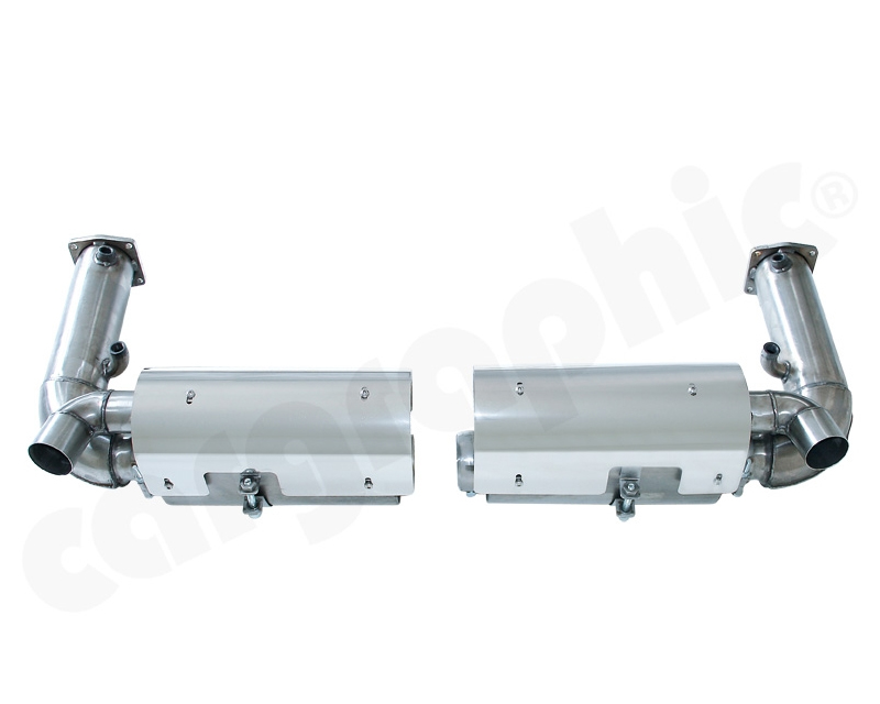 Cargraphic Turbo Back Exhaust System Race Super Sound Porsche 997.2 GT3 10-11 RACE USE ONLY - CARP97TDFIETSKATER