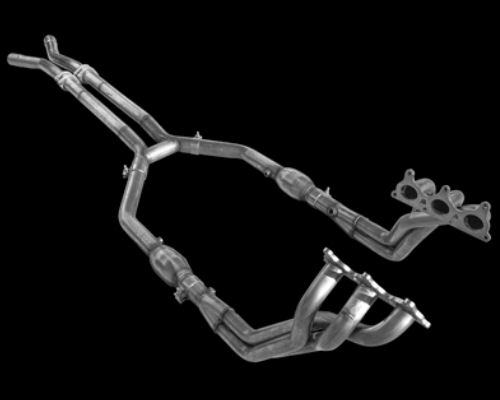 American Racing 1.75 inch x 2.5 inch Headers with Short Connection No Cats Chevrolet Camaro V6 10-11 RACE USE ONLY - CAV6-10134212SSNC