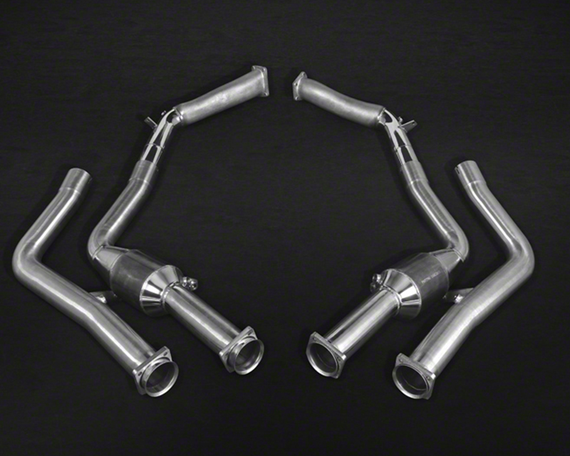 Capristo 100 Cell Catted Stainless Steel Downpipe Pair Mercedes-Benz G63 5.5L V8 BiTurbo AMG 12-15 - 02MB08503007