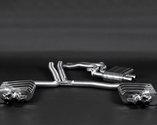 Capristo High Performance Exhaust System No Remote Audi RS4 06-08 - 02AU05103001