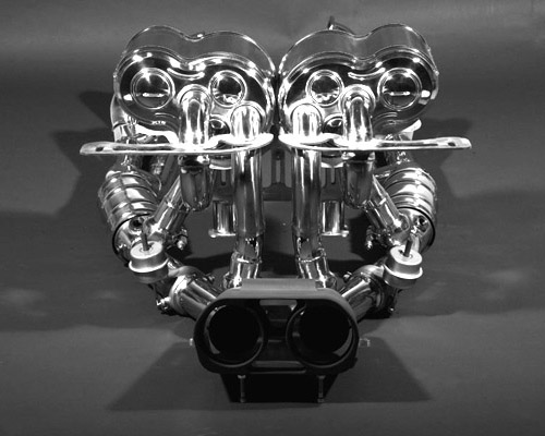 Capristo Complete Valved System Headers - Cats - Exhaust - Remote Lamborghini Murcielago LP640 06-10