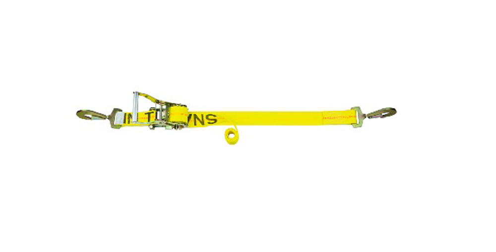 Tie Down Strap Classic Line 10K Ratchet Assembly 9 Foot W/Twist Snap Hooks Snappin Turtle - CL1120