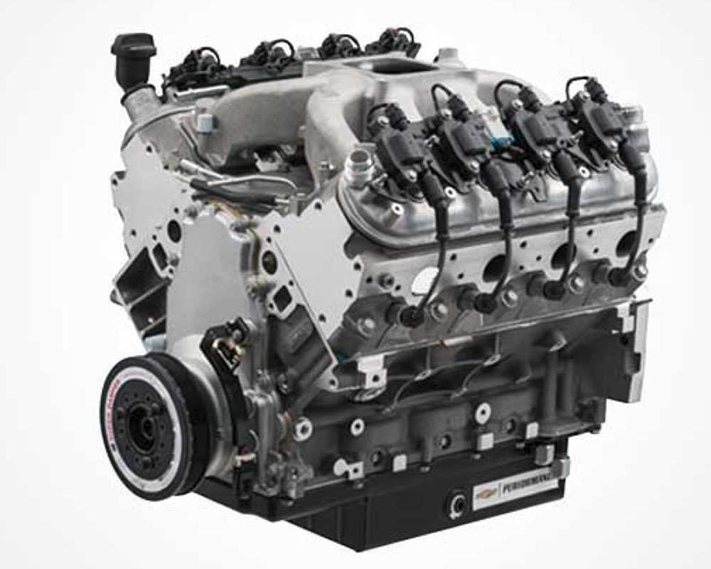 Chevrolet Performance CT525/525 Circle Track Small-Block V-8 Crate Engine - 19331563