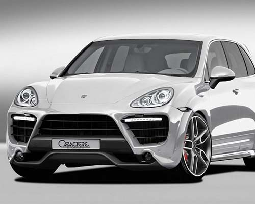 Image of Caractere Exclusive Complete Body Kit Porsche Cayenne 958 Non Turbo 11-14