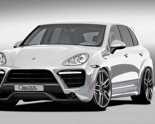 Image of Caractere Exclusive Complete Body Kit Porsche Cayenne Turbo 958 11-14