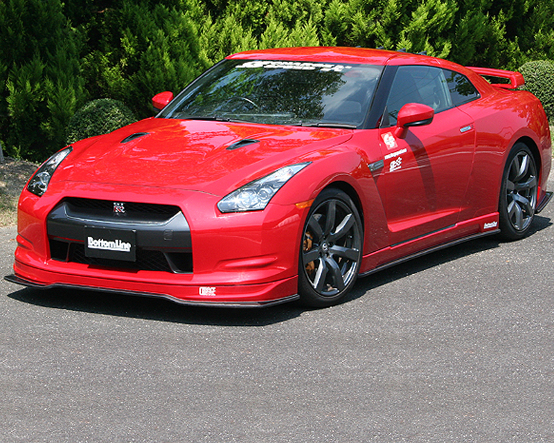 Chargespeed hybrid bottom line full body kit nissan gtr for Nissan gtr bodykit