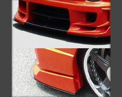 ChargeSpeed Carbon Under Plates for Wide Body Front Bumper Subaru Impreza GD-B 02-05 - CS978UCW