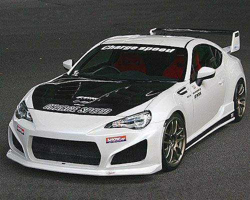 Chargespeed 4 Piece Body Kit Subaru Brz Scion Fr S Toyota Gt 86 13