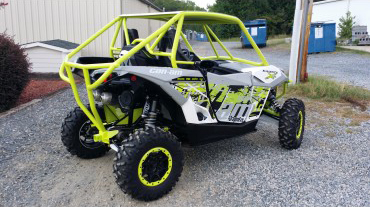 CT Race Worx XDS Roll Cage, Bare, Includes Roof, Receiver and Rear Bumper - Can-Am Maverick XDS | XRS Turbo 15-17 - CT-MAV-6000-0