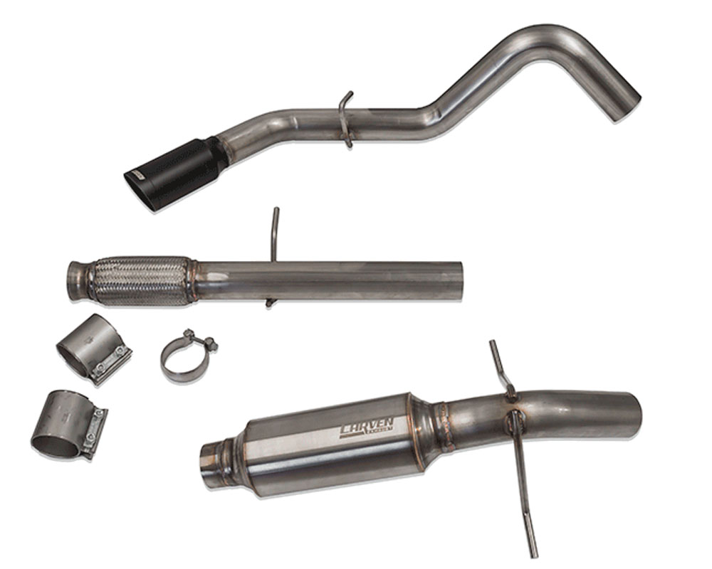 Carven Exhaust Competitor Series Catback Exhaust Chevrolet Silverado 1500 | GMC Sierra 1500 Crew Cab 5.7' Bed 14-18 - CVESTCCC1